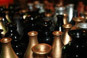 vaza, zlato, boja, objekt