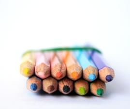màu, bút chì, màu sắc, gần gũi