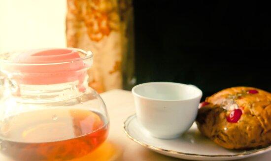 Petit-déjeuner, tasse, thé, boisson, boisson, café