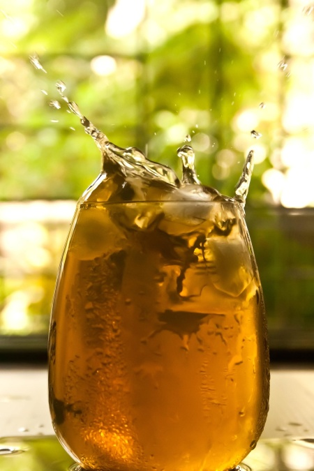 ice, glass, fruit juice, liquid, drink, beverage, party