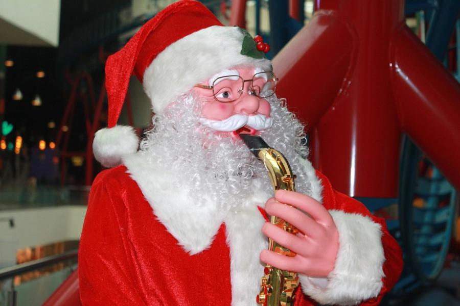 Navidad, juguete, santa claus, traje, celebración, colorido