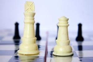 sjakk, spill, plast, strategi, sjakkbrett, objekt