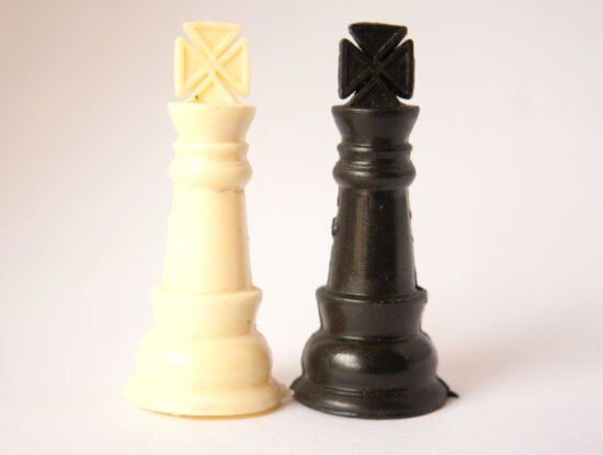 king, chess board, game, plastic, chess, toy