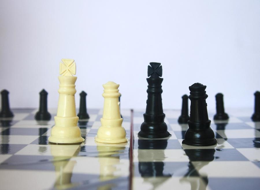 mesa, xadrez, jogo, jogo, tabuleiro de xadrez, sucesso