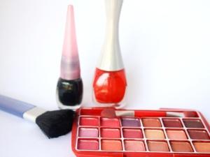 Mode, Frau, Make-up, Lippenstift, Kosmetik