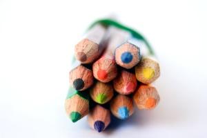 color, pencil, colorful, object