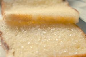 chlieb, cukor, maslo, jedlo, strava