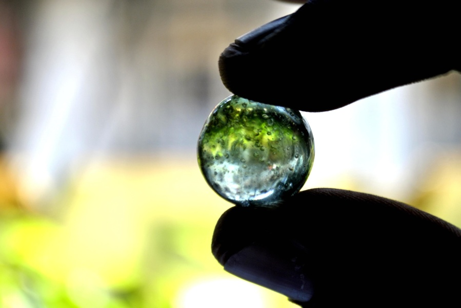 marble, glass, hand, finger