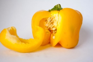 yellow, bell pepper, diet, pepper, vegetable, food, seed