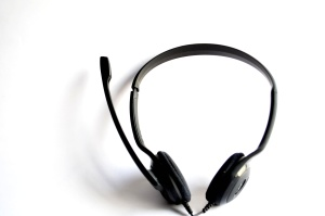 sound, wire, plastic, device, headphones, black