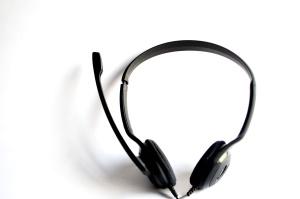 zvuk, žica, plastika, uređaj, slušalice, crni