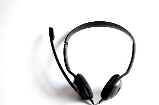 sound, wire, plastic, device, headphones, black