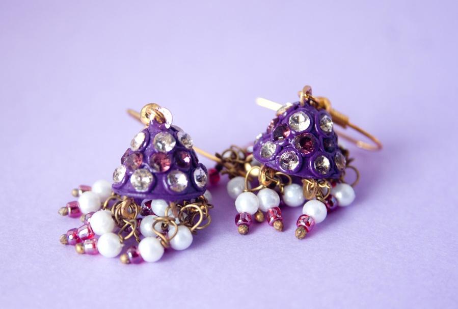 earrings, gold, jewelry, gift, fashion