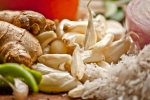 garlic, ginger, food, vegetable, diet, kitchen