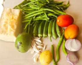 növényi étrend élelmiszer, paradicsom, hagyma, saláta, fokhagyma