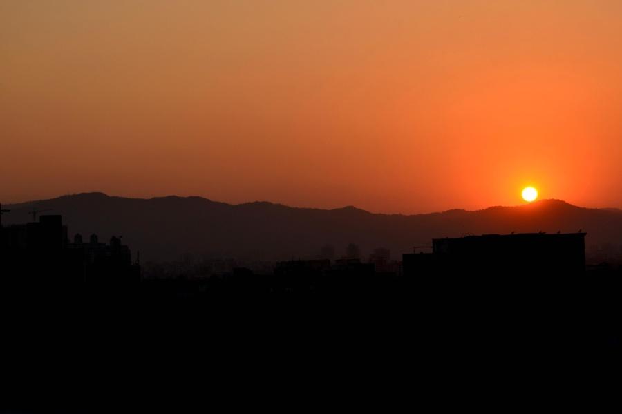 sunset, dusk, sun, atmosphere, sky, star, sunrise