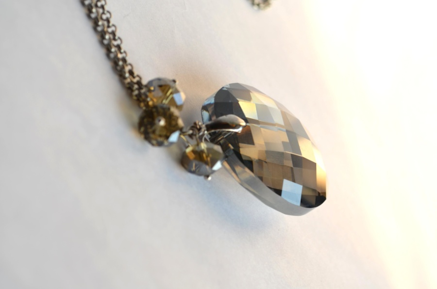 necklace, crystal, pendant, jewelry