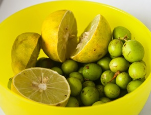 yellow, bowl, lemon, fruit, citrus, food, lime, vitamin, grapes
