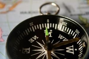 compass, north, south, instrument, device, navigation