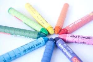 color, crayon, pencil, education, rainbow, colorful