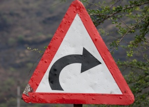 traffic sign, triangle, sign