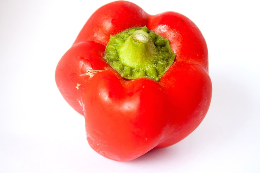 red, bell pepper, vegetable, food, diet, meal