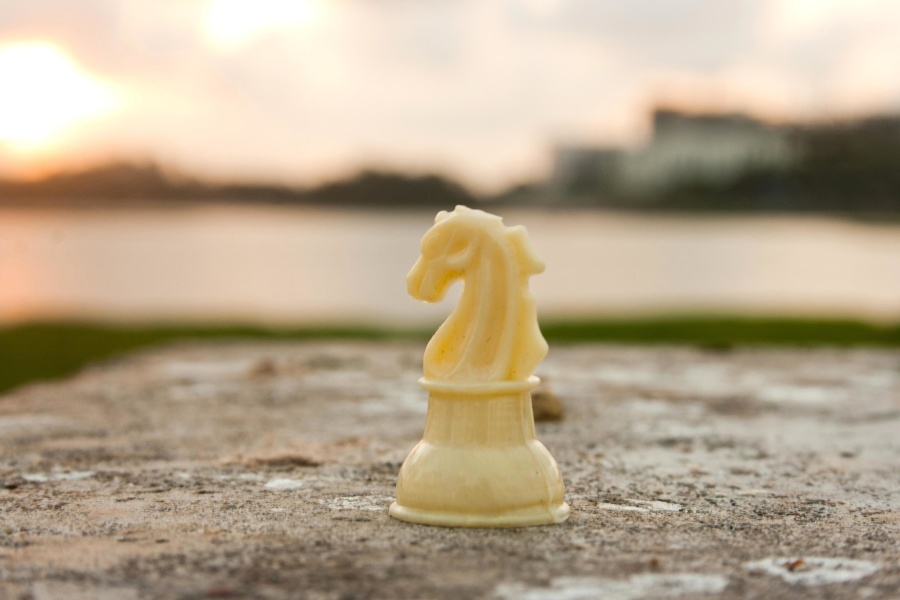 chess, game, plastic, object, stone