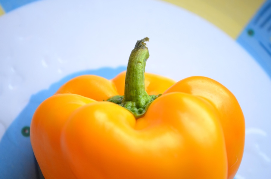 yellow, bell pepper, vegetable, vitamin, diet, food