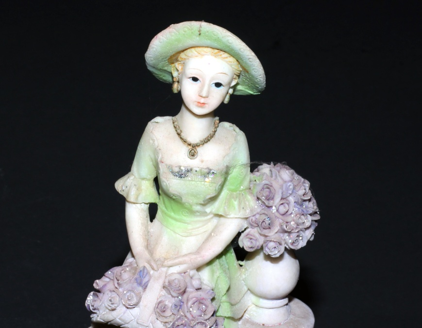 statue, decorative, art, sculpture, colorful, object, lady