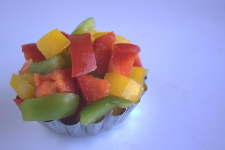 meyve, sebze, salata, yemek, kase, diet, renkli