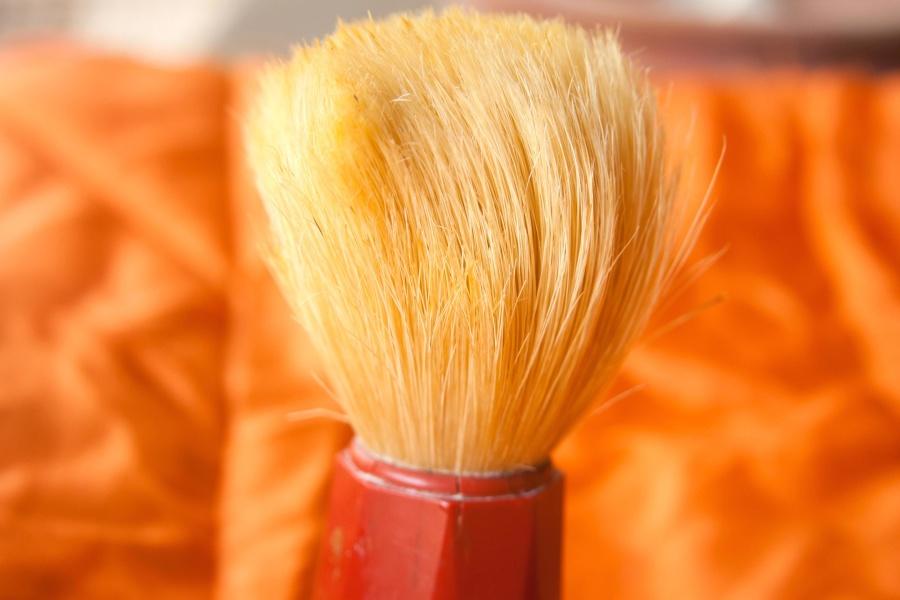 tool, shaving brush, hand tool, brush, object