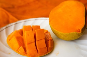 mango, slice, food, diet, fruit, nutrition, meal