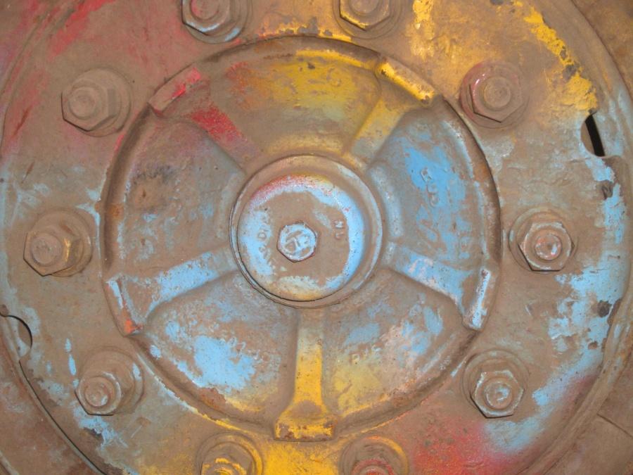 metal, iron, rust, object, wheel