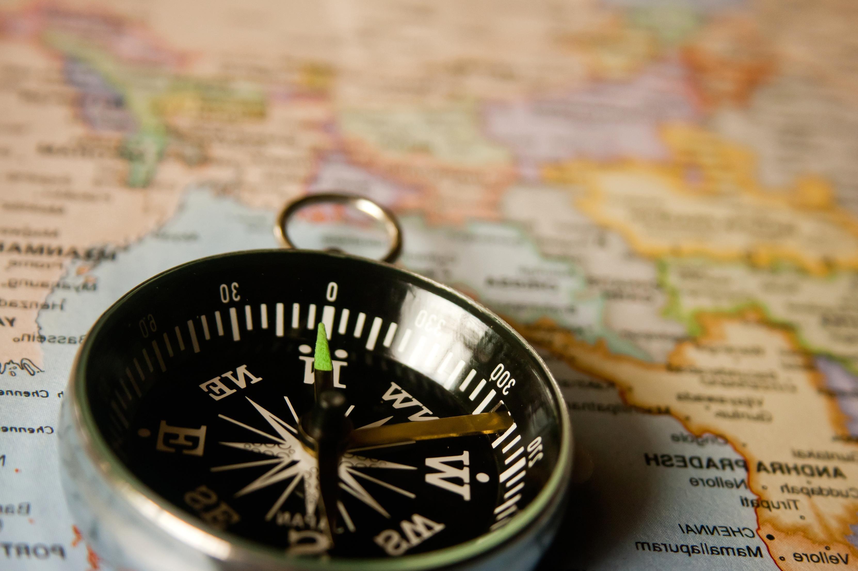 Ilmainen Kuva Kompassi Navigation Kartta Valineen Laitteen