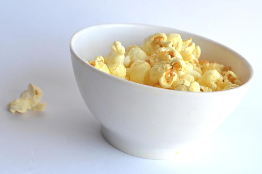 popcorn, food, bowl, corn