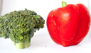 bell pepper, broccoli, food, diet, vegetable