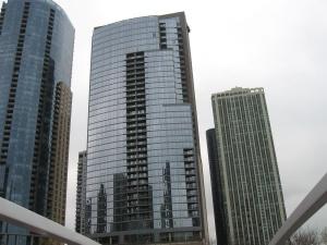 Edificio, oficina, arquitectura, ciudad, urbano, céntrico, cielo, torre