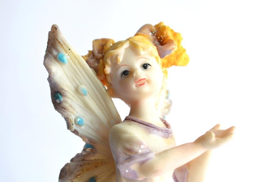 toy, plastic, angel, attractive, pretty, happy