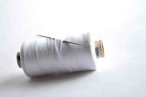 λευκό, ράψιμο, ράψιμο βελόνα, χάλυβα