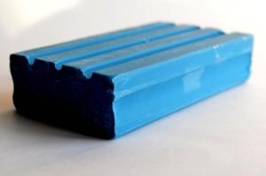 blue, soap