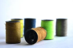 jahit thread, objek, menjahit, warna-warni