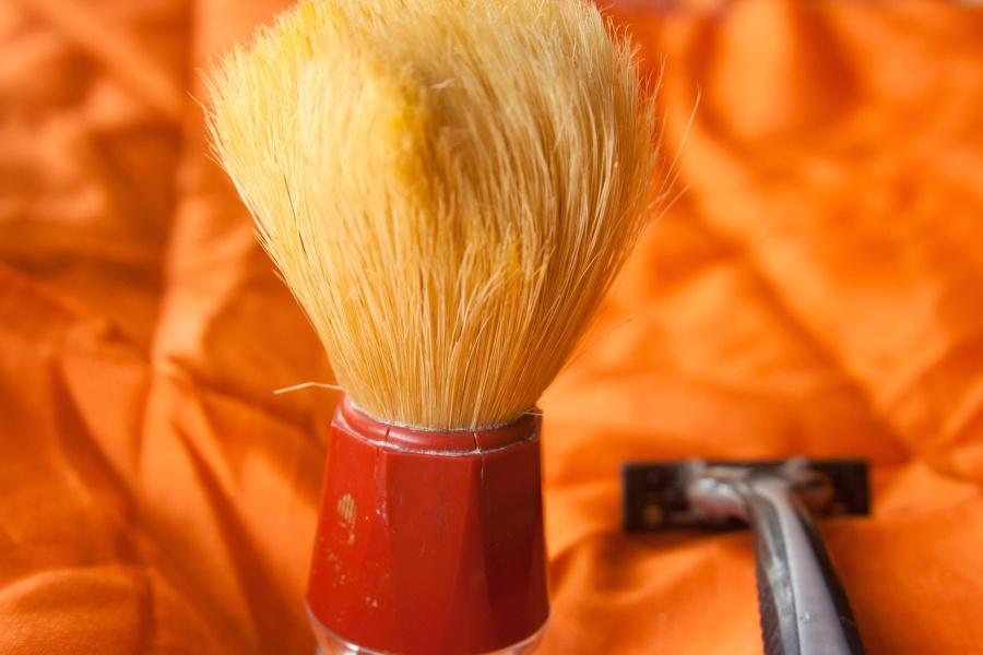 razor, shaving, brush, object, plastic, hand tool