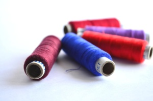 sewing thread, sewing, colorful