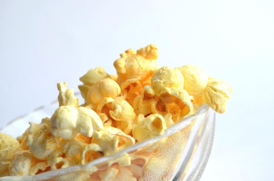 corn, cereal, popcorn, food, bowl