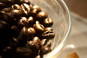 seed, brown, food, cofffee bean, bowl