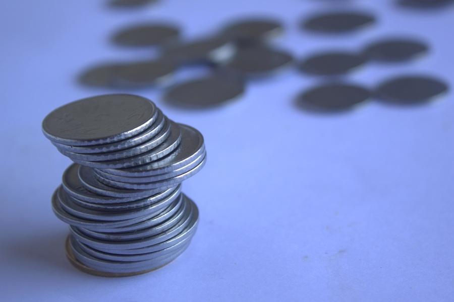 money, metal coin, metal, economy
