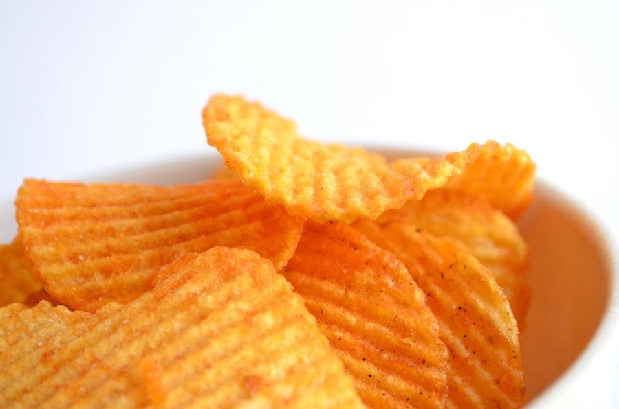 potato chip, bowl, food, diet