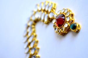 목걸이, 보석, 다이아몬드, 보석, 금