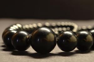 joia de pedra, pulseira, preto, luxo