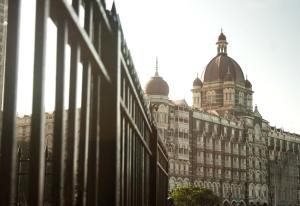 Hotel, Indien, arkitektur, by, tårn, rejser